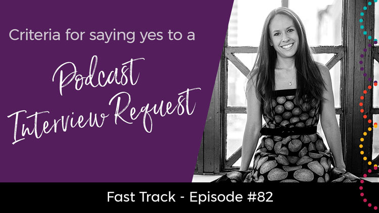 podcast interview request