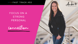 how to develop a personal connection